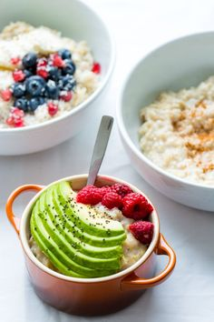 Learn how to make PERFECT oatmeal with this simple tutorial video. Top with a variety of toppings for a quick, easy and healthy breakfast!