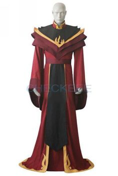 Avatar the Last Airbender Fire Lord Ozai Cosplay Costume halloween any size