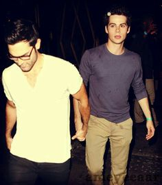"""""""Hey, you're holding my hand so I don't get lost, right?"""""""