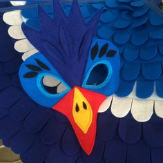 ZAZU inspired costume // Soft and Flappable // Mask by TreeAndVine