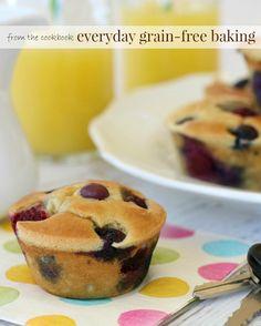 Pancake Muffins on the Go (gluten and grain free) - www.savorylous.com #glutenfree