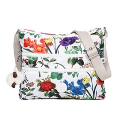Alvar Cross-Body Travel Bag in Frond Print #Kipling
