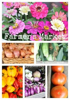 FARMER'S MARKET... farm fresh ideas