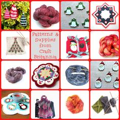 Get ready for Christmas proper with Craft Britannia Supplies and Patterns via Christmas In July Promo