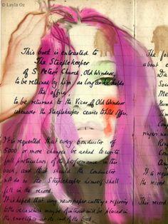 "Saatchi Art Artist Layla Oz; New Media, ""Untitled number 22"" #art (Woolf)"