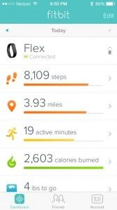 If you are considering gettig a fitness tracker bracelet/arm band - check out this fit bit flex review!