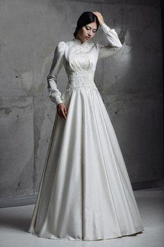 Стиль 40-х свадебное платье