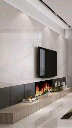 Home Room Design, House Design, Ants In House, Living Room Tv Unit Designs, Fireplace Design, Modern Kitchen Design, Kitchen Designs, Kitchen Ideas, Luxury Interior Design