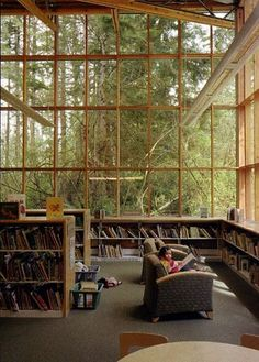 oh my gosh......SO BEAUTIFUL!!!    The beautiful Maple Valley Public Library, Maple Valley WA