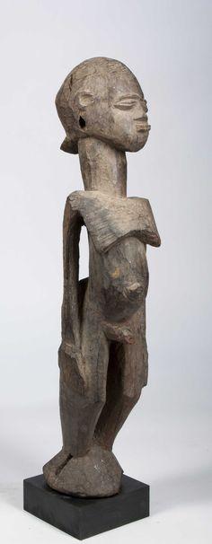 A fine and large Lobi figure
