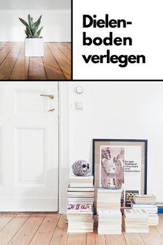 Wir stellen drei verschiedene Methoden vor, wie du einen Holz-Dielenboden verlegen kannst. Townhouse, Gallery Wall, Frame, Interior, Room, Home Decor, Plank Flooring, Wood Grain, Build House