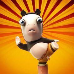 kung-fu panda rabbid