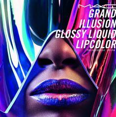 The Makeup Examiner: M∙A∙C Cosmetics Launches Grand Illusion Glossy Liquid Lipcolour