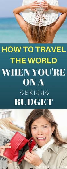 Are you dreaming of traveling the world but you're bank account is the only thing holding you back? I'll show you exactly how to travel the world when you're on a serious budget. Enjoy traveling to any destination and cross it off your bucketlist