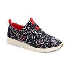TOMS Del Ray Woven Sneaker (320 RON) ❤ liked on Polyvore featuring shoes, sneakers, navy multi woven, toms sneakers, woven shoes, navy blue sneakers, tom trainer and navy shoes Toms Sneakers, Lace Sneakers, Lace Up Shoes, Cheap Toms Shoes, Toms Shoes Outlet, Uggs Outlet, Navy Blue Sneakers, Navy Blue Shoes, Toms Outfits