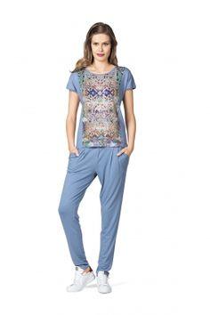MODEE Jerseyhose Trendfarbe 2016 Fashion Serenity