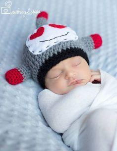 ae6d6985612 Newborn Robot Hat   Lovebot Hat  Geeky Hat  Baby Boy Hat  Handmade Crochet  Hat  Newborn Baby Hat  Unique Baby Hat