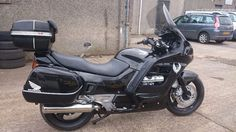 This is my much loved Honda Pan European is a reluctant sale but has to go as I'm not u Custom Bikes, Bikers, Motorbikes, United Kingdom, Honda, Beautiful, Vehicles, Custom Motorcycles, Motorcycles