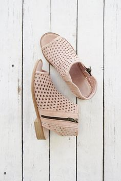 Blush booties | ROOLEE