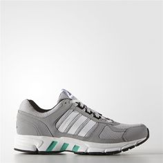 los angeles cb6e2 7a328 Adidas Equipment 10 Shoes (Mid Grey   Running White   Shock Green) Adidas  Shoes
