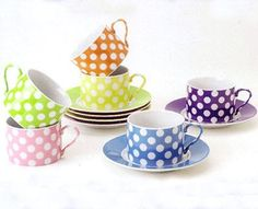Cup and Saucer (set of 6)