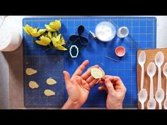 How to Make Orchid Sugar Paste Flower Petals | Sugar Flowers - YouTube