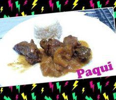 Carrilada de cerdo con salsa de higos para #Mycook http://www.mycook.es/receta/carrilada-de-cerdo-con-salsa-de-higos/