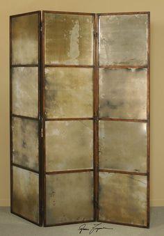 Uttermost Avidan 3 Panel Screen Mirror