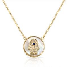 #Pearl, #hamsa and gold tones? Just in time for Fall! Get yours now! MyDailyStyles.com