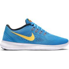 Nike Free RN Mens Heritage Cyan/Laser Orange/Black/Blue