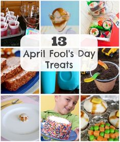 13 April Fools Day Treats for Kids