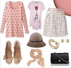 Look romântico 1