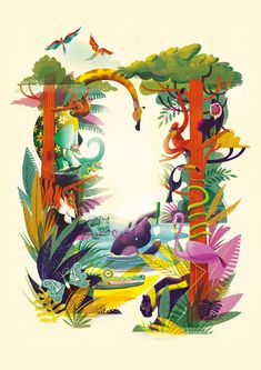 Jungle Illustration