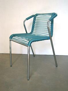 chaise longue scoubidou des ann es 50 l 39 atelier du multiple pinterest scoubidou chaises. Black Bedroom Furniture Sets. Home Design Ideas