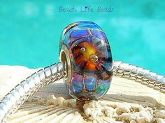 SEA SPIDER OPAL Fully Lined Sterling Silver Big by beachlifebeads, $22.00