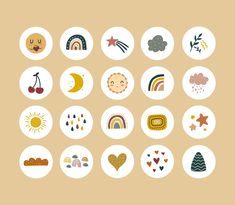 Cute Stickers, Tumblr Stickers, Social Media Icons, Instagram Highlight Icons, Aesthetic Stickers, Web Design, Free Instagram, Instagram Story, Wine And Paint Night