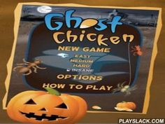Ghost Chicken  Android Game - playslack.com , a compelling and funny passageway, on the gameplay reminding known popular game Pacman.  You will support a ghost of chicken to gather atoms in a system.  To pass stage, you need to expand unimaginably a neck on the whole system, to gather kernels, to move in a neck back and not to get to foes before allowed time will extremity.  The system of tunnels teems with arachnids, ants and other arthropods who with feeling chew through your thin neck…