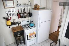 tiny apartment - kitchen