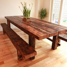 reclaimed wood furniture made locally in San Diego. custom order ...