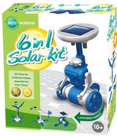 6in1 Solarmodell Experimentierkasten