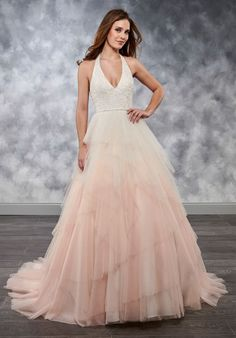 9105826cf533 Ombré 2018 Wedding Dress Available at Chicago Bridal Store and online at  Chicagobridalstore.com Mary's
