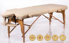 Memory 2 Beige Bärbar Massagebänk RESTPRO