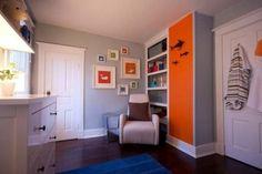 30 Ideas How To Use Orange In Kids' Rooms | Kidsomania
