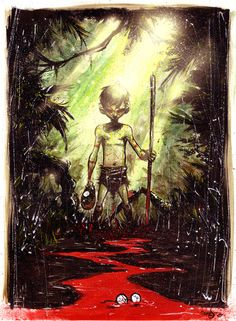 Skottie Young | Lord of the Flies painted Commission