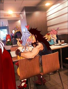 I don't ship gray and erza but them rest of the picture is great