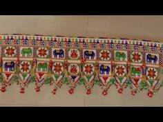 Diy Embroidery Patterns, Basic Embroidery Stitches, Hand Embroidery Videos, Baby Embroidery, Flower Embroidery Designs, Thali Decoration Ideas, Diwali Decorations, Kutch Work Designs, Pine Cone Crafts