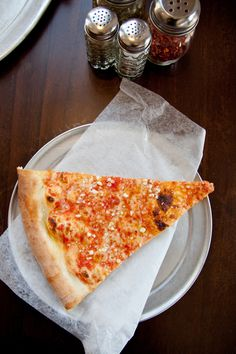 An NYC favourite. Pizza.