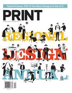PRINT Magazine December 2014: The Regional Design Annual   My Design Shop