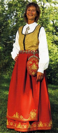 FolkCostume&Embroidery: Overview of Norwegian Costumes. Part the Southeast. Norwegian Clothing, Beautiful Costumes, Folk Costume, Norway, Folk Art, Embroidery, Clothes, Search, Fashion