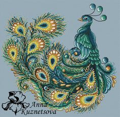 Peacock Cross Stitch Pattern PDF Instant Download Embroidery Cute Wall Decor Finished Work Photo Ava Cross Stitch Bird, Cross Stitch Animals, Counted Cross Stitch Patterns, Hand Embroidery Flowers, Hand Embroidery Patterns, Machine Embroidery, Embroidery Designs, Peacock Quilt, Peacock Pillow